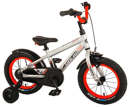 Παιδικό ποδήλατο Volare Rocky - Boys - 14 inch - Silver