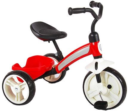 Ποδήλατο τρίκυκλο QPlay Elite Tricycle - Boys and Girls - Red