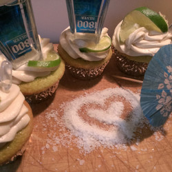 Keylime Cheesecake Cupcakes