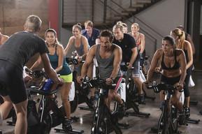 FITCITY Fitnes center Gym Ljubljana vodene vadbe | Spin & Sculp / SPINPower / Spin & Core