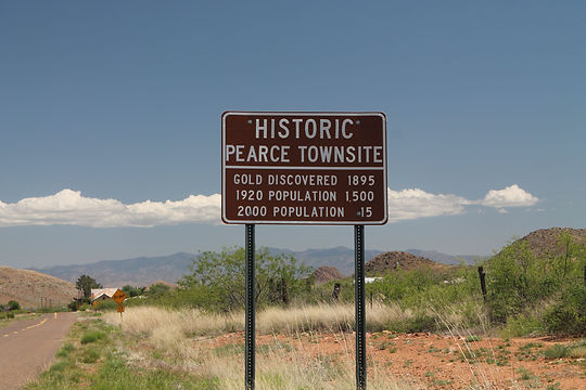 Historic Pearce Townsite