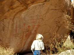 Council Rock petraglyphs