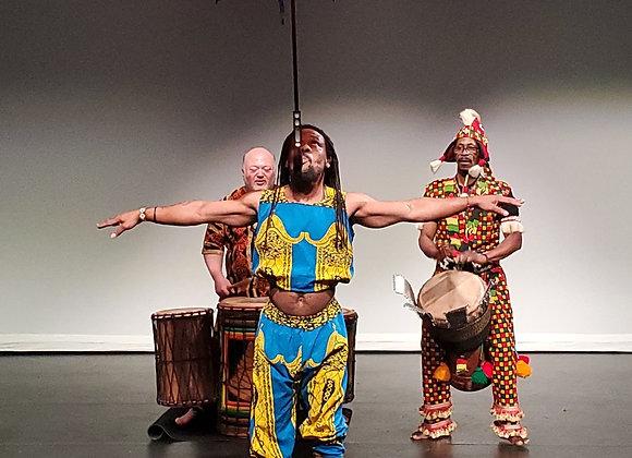 Guinea-Style Dance Workshop
