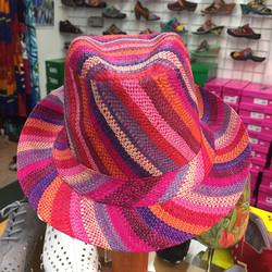 Bright stripes hat