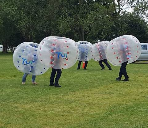 Tui Ridge Park Bubble Soccer
