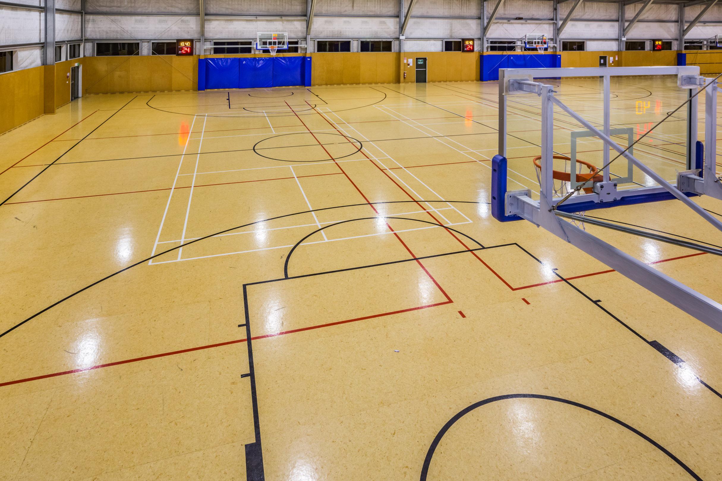 Tui Ridge Park Basketball Court