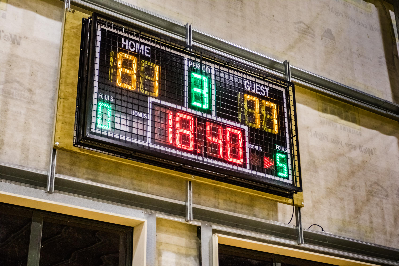 Tui Ridge Park Score Board