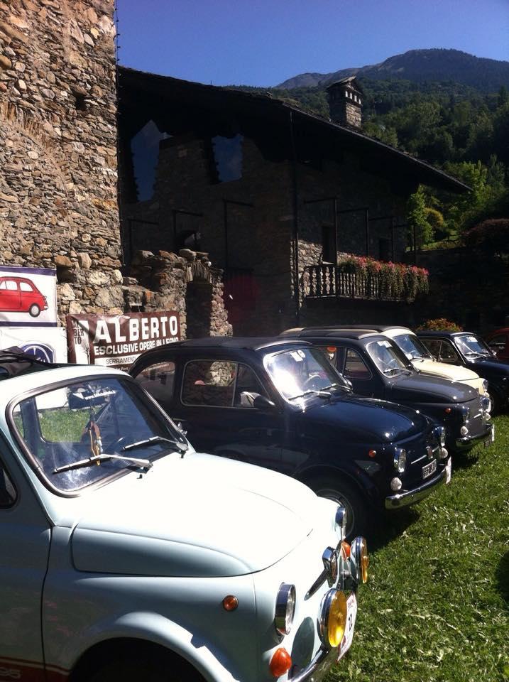 25 Luglio 1° Meeting Fiat 500