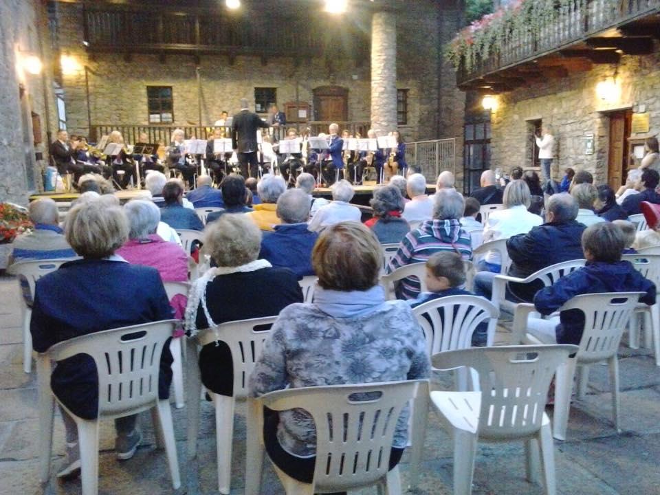 Banda Courmayeur-La Salle 25 luglio