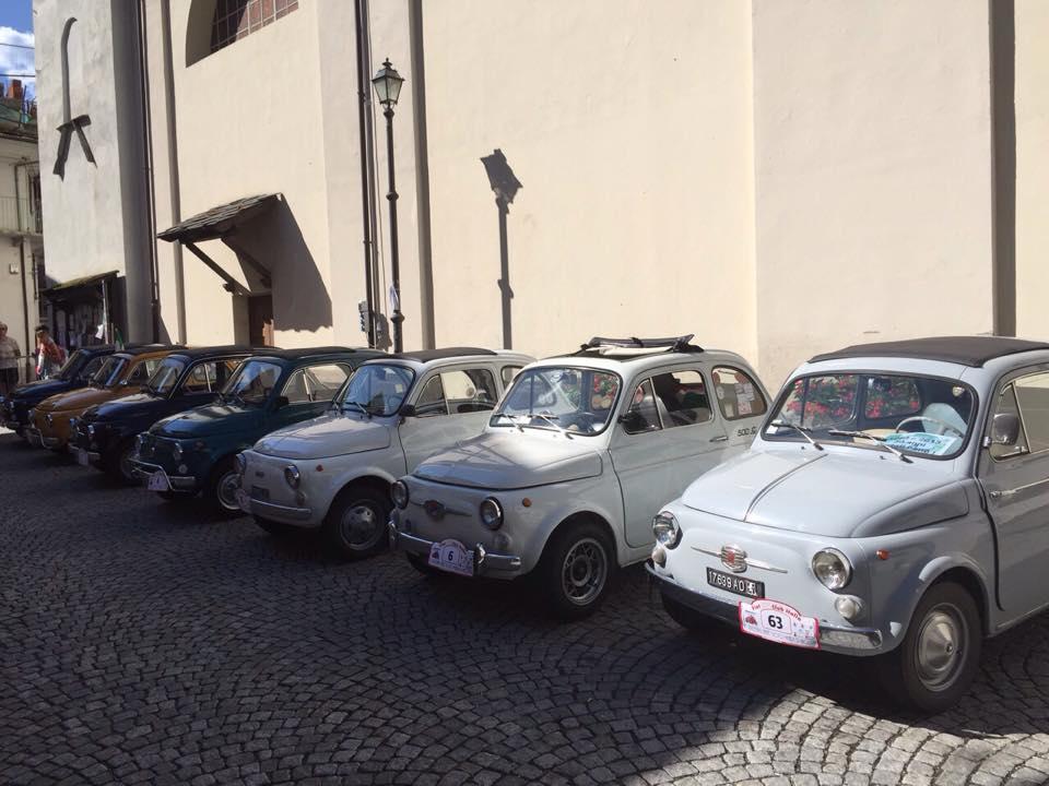 1° Meeting Fiat 500 25 luglio