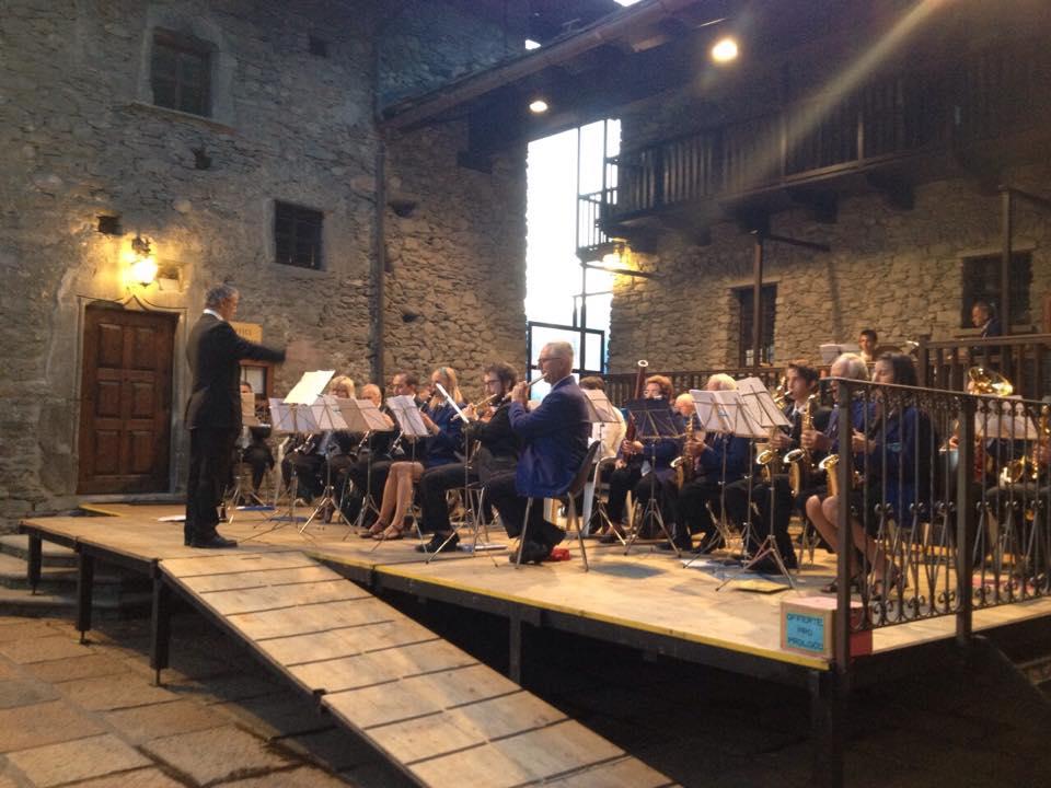 25 Luglio Banda Courmayeur-La Salle