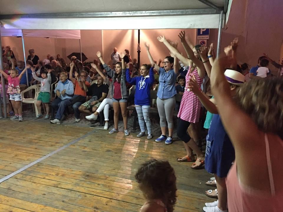 Ballo liscio in piazza 19 Luglio