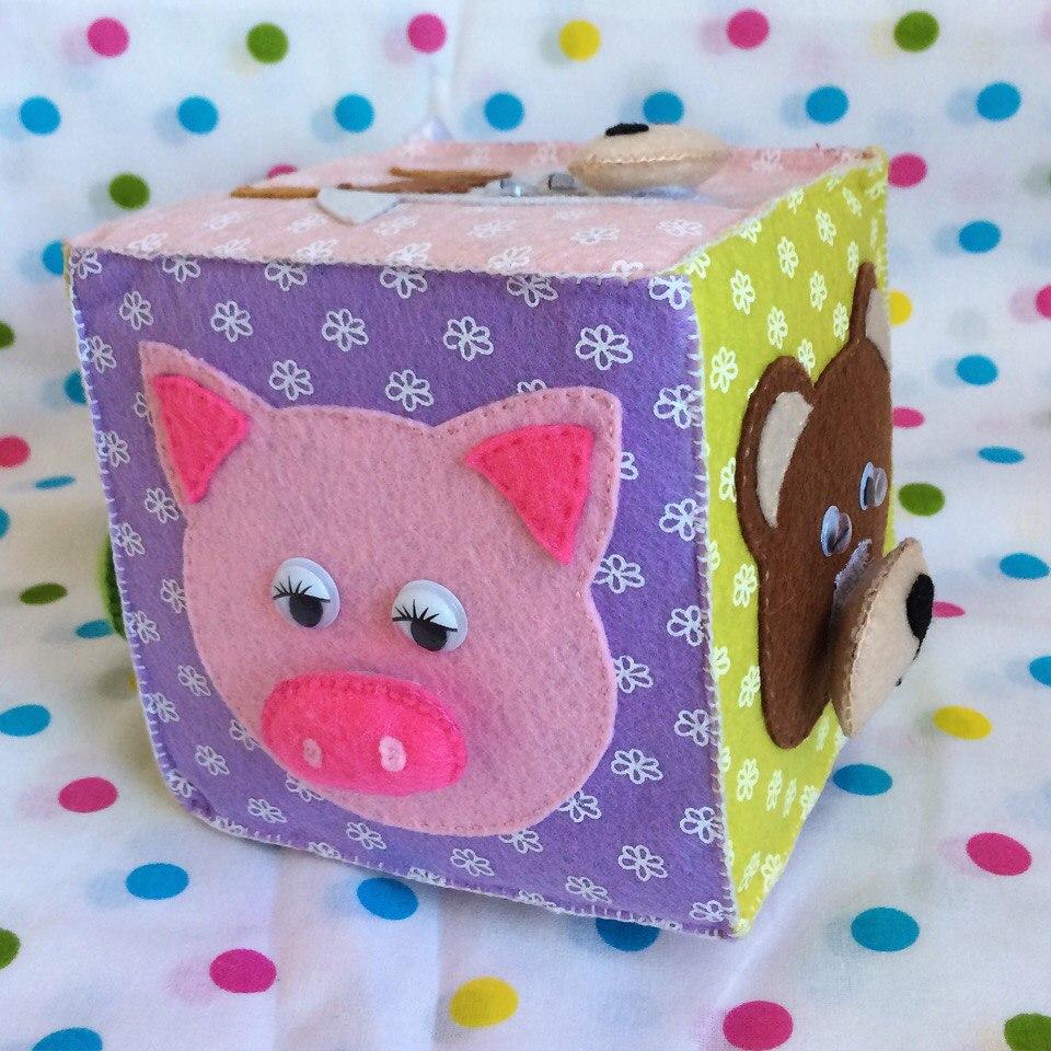 Кубик «Чей нос?» - 700 рублей