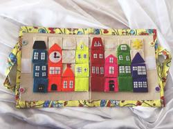 Детский планшет «Радужный город»