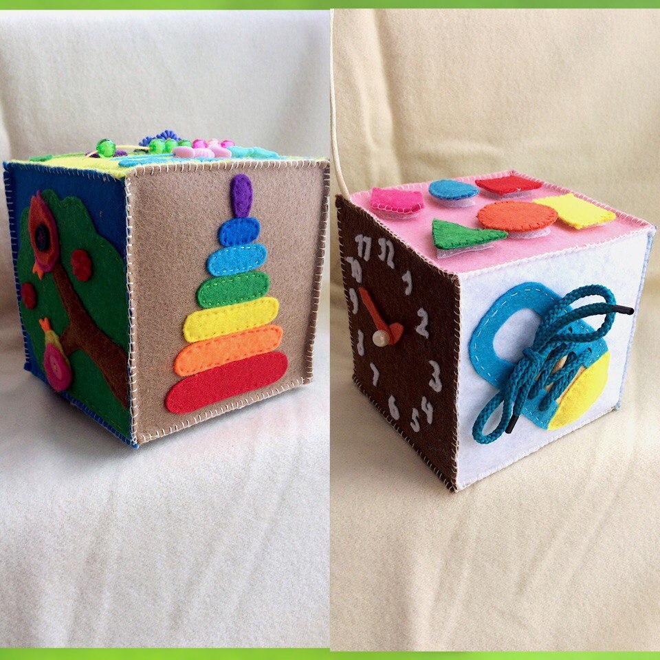 Развивающий кубик - 600 руб.