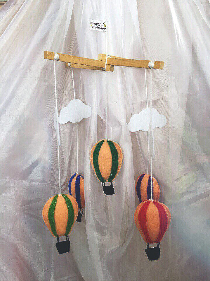 Мобиль «Воздушные шары» - 600 руб.