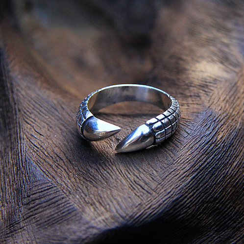 Ring Silver Claw