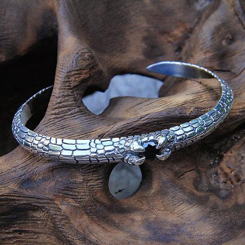 Bracelet Silver Snake