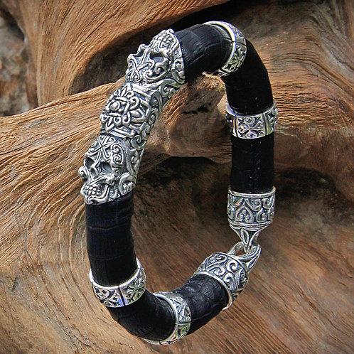 Bracelet Gothic Skull 1