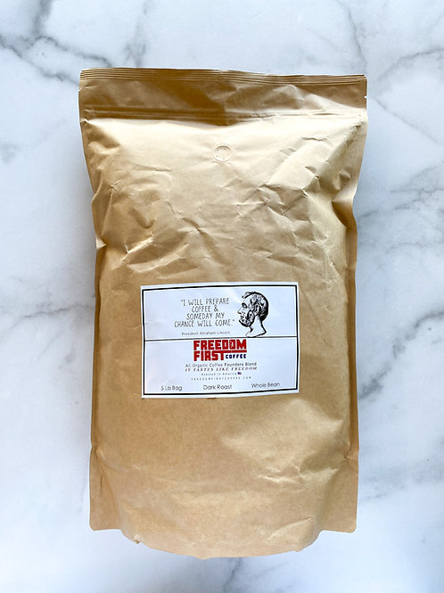 Founders Blend Coffee (5 Pound Bag)