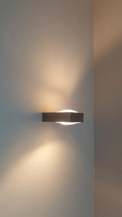 Verlichtingsplan wandverlichting