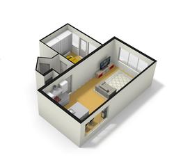 3D-visual interieur