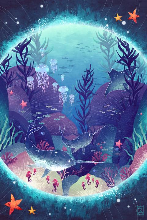 """Ocean. A Spellbinding Entity"" by Arianne May Sapalaran"