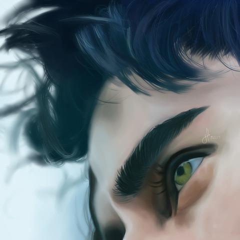 """""""Gaze"""" by Joyce Garcia"""