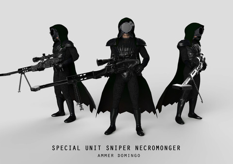 """""""Special Unit Sniper Necromonger"""" by Ammer Domingo"""