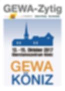 Titelseite GEWA-Zytig 2017