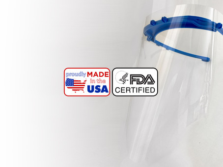 New Viso Face Shield V2 coming soon to the USA!  Proudly made in the USA, and FDA certified.