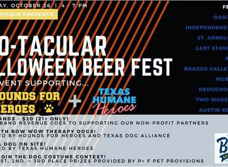 Boo-tacular Beer Fest | Brewtique | October 26th