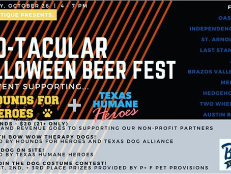 Boo-tacular Beer Fest | Brewtique | October 26th