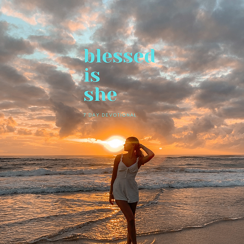 Blessed is she who believes vol 2 - Christmas 2020 devotional