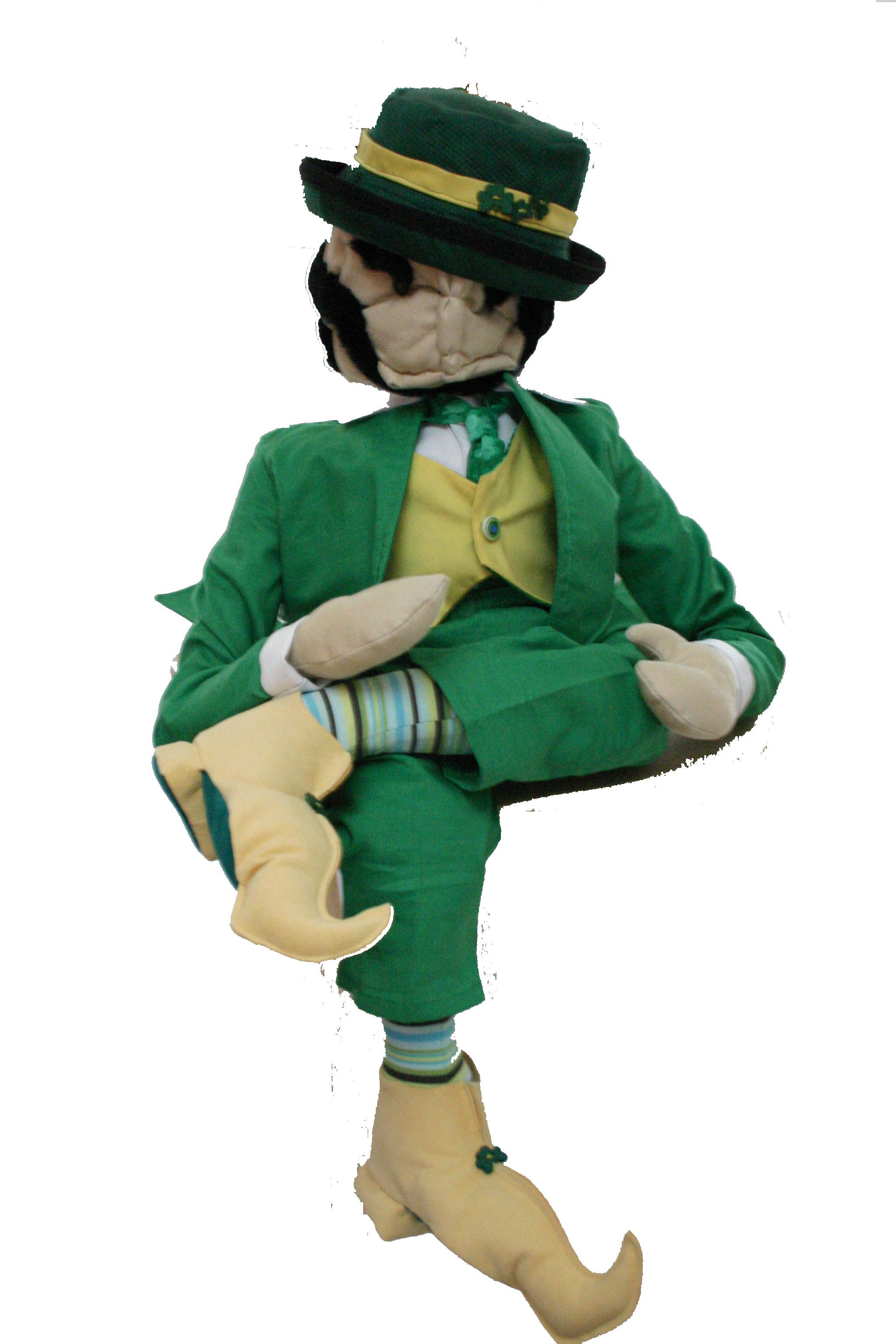 Leprechaun   seated
