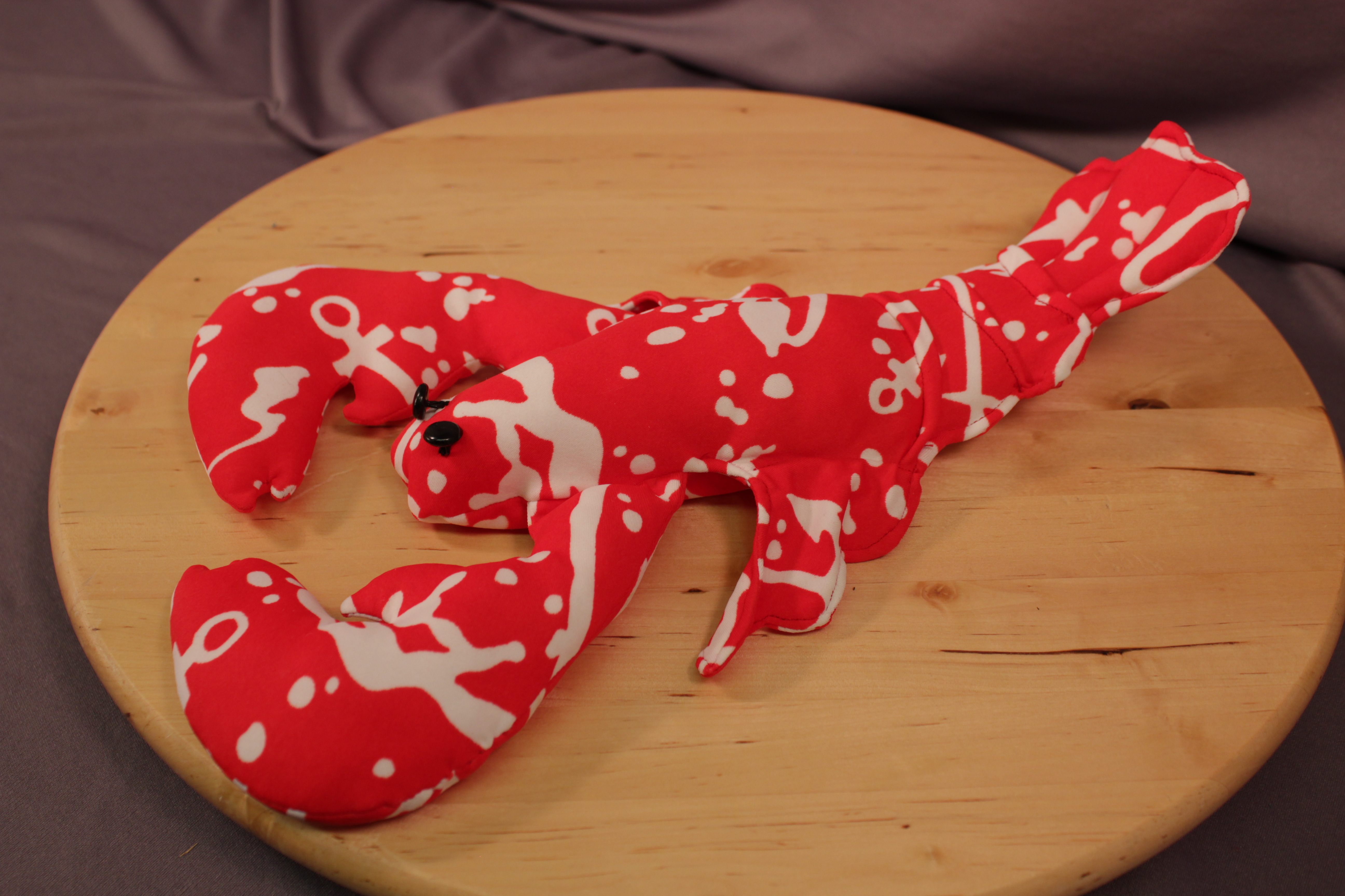 RED/WHITE LOBSTER