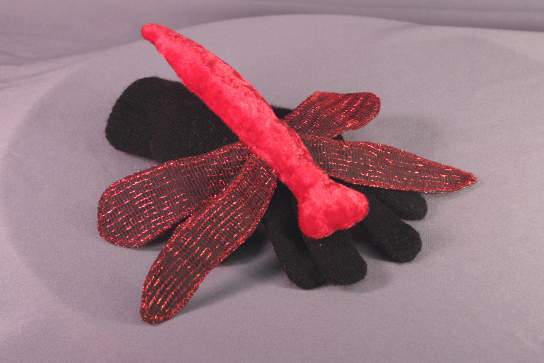 DRAGONFLY -red/black