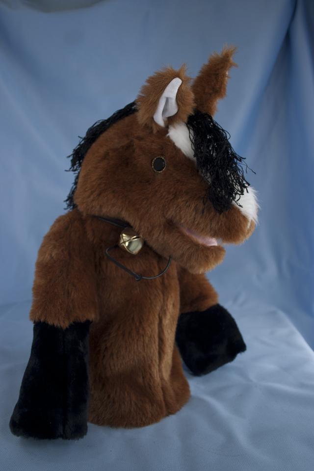 HORSE rust bay