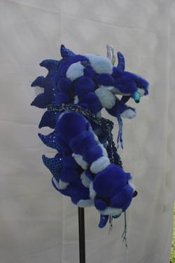 DRAGON blue sculpty