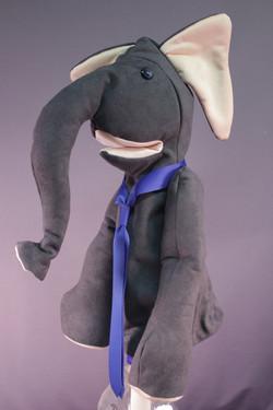 ELEPHANT grey suede.