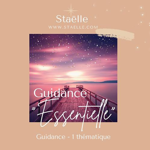 "GUIDANCE ""ESSENTIELLE"" - 1 thème"