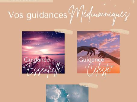 Guidances Essentielle, Céleste & Divine :  je vous propose mes services !