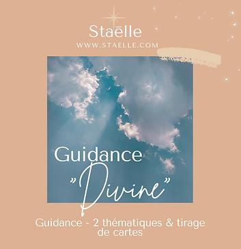 """GUIDANCE """"DIVINE"""" - 2 thèmes & tirage de cartes"""