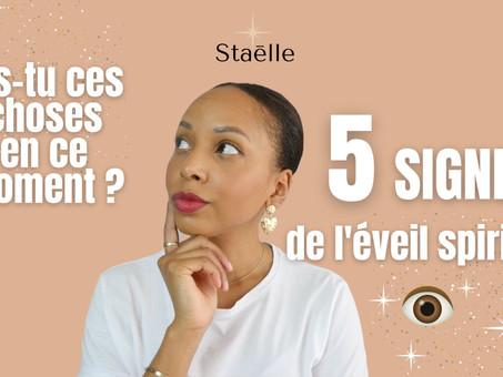 5 signes de l'éveil spirituel