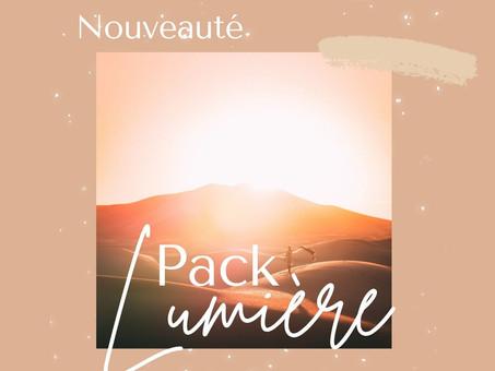 Le pack LUMIÈRE - Guidance, Lithothérapie & Méditation