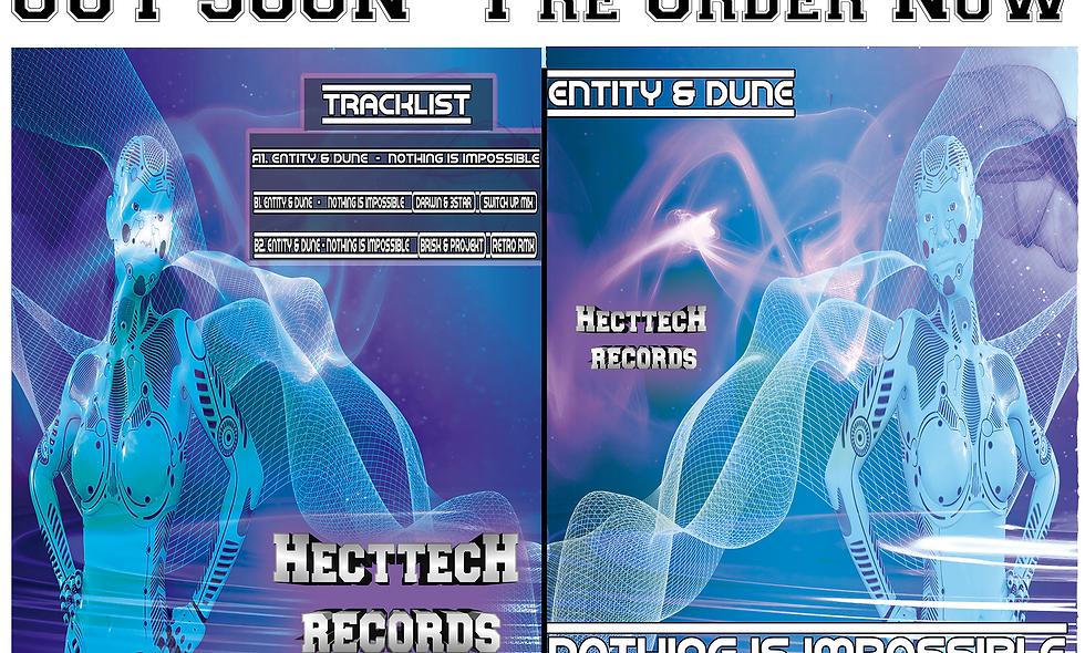 Hecttech Records 041 - Entity & Dune - Vinyl - Pre-order Now !