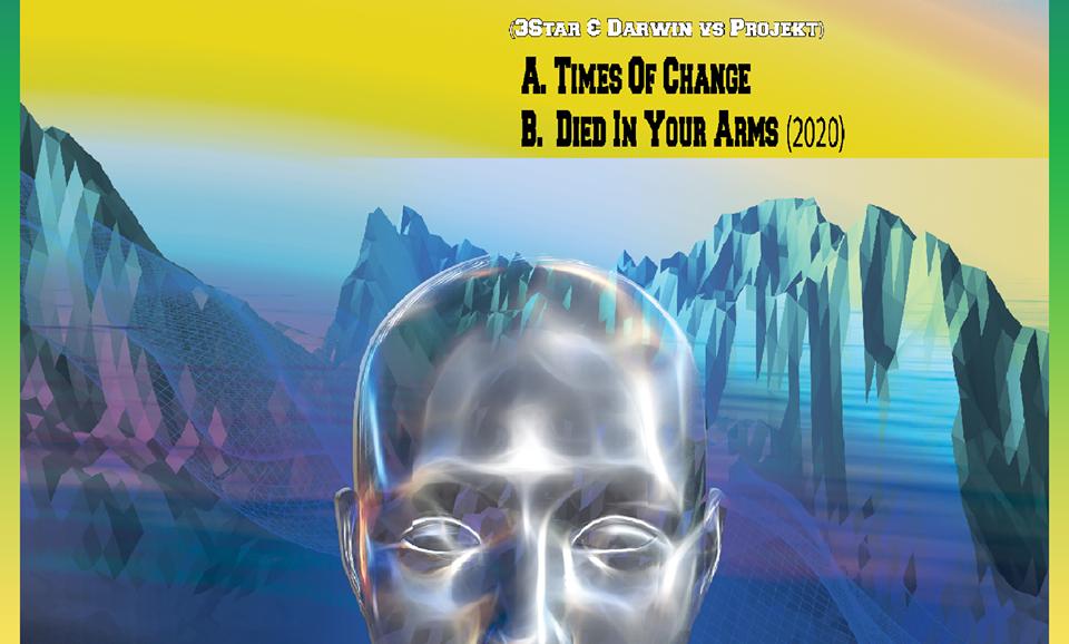 H-Tec 037 - A - Times Of Change - 3Star & Darwin Vs Projekt - Digital