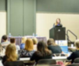 Kate Martin speaking