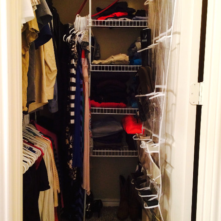 Small Spaces - Part 4: The Master Closet