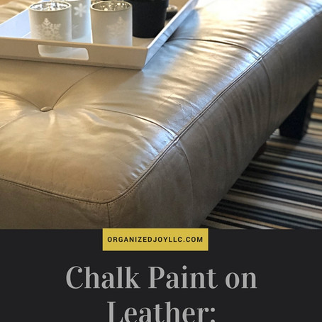 Chalk Paint, Leather & Kids: A Review 2 Years Later
